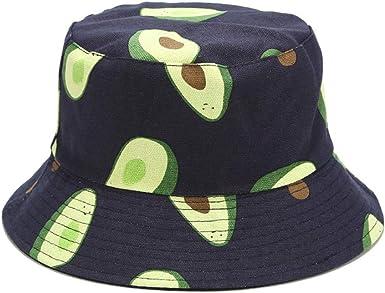Vackutliv Unisex Reversible Packable Bucket Black White Hat Sun hat for Men Women