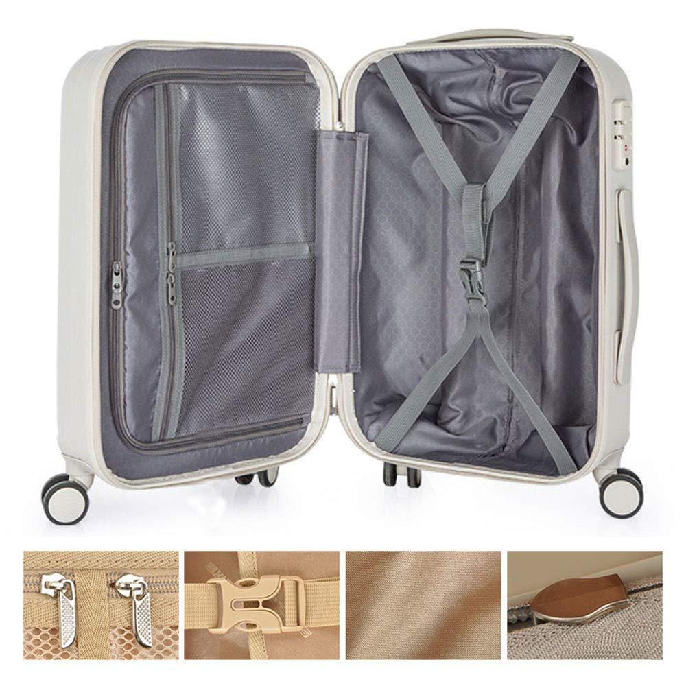 wear-Resistant Anti-Scratch TSA Combination Lock Polyester//PC 2 Colors and 4 siz Scientific partition Dry and Wet Separation Mute Caster Large Capacity Storage Box YD Luggage Set Trolley Case