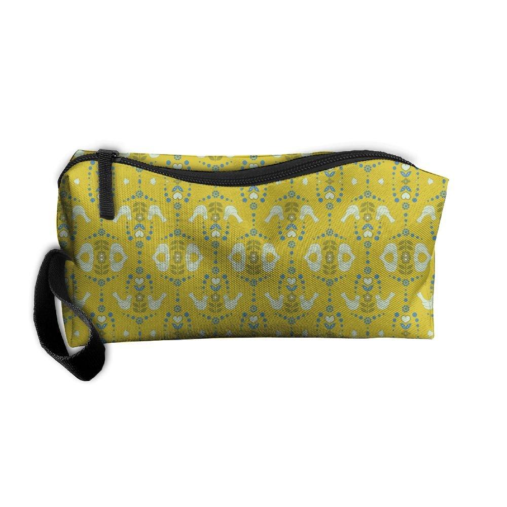 58d75c1b16 durable modeling Portable Durable Waterproof Lovebirds Green Sans Travel  Wash Bag Pencil Bag Cosmetic Bag