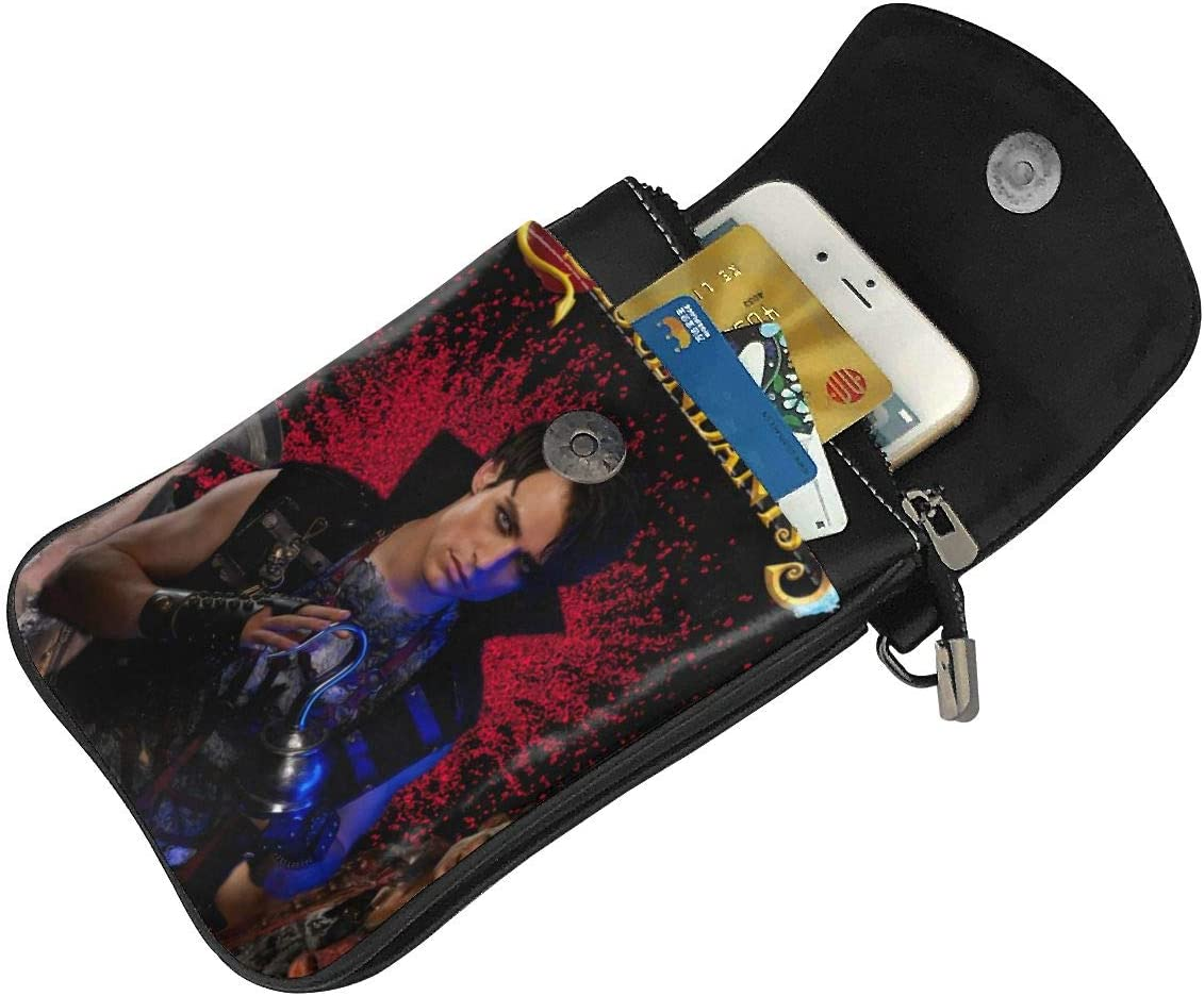 Card Bag Wallet YiwuYshi Descendants 3 Harry Womens Small Crossbody Cell Phone Pocket Mobile Phone Shoulder Bag