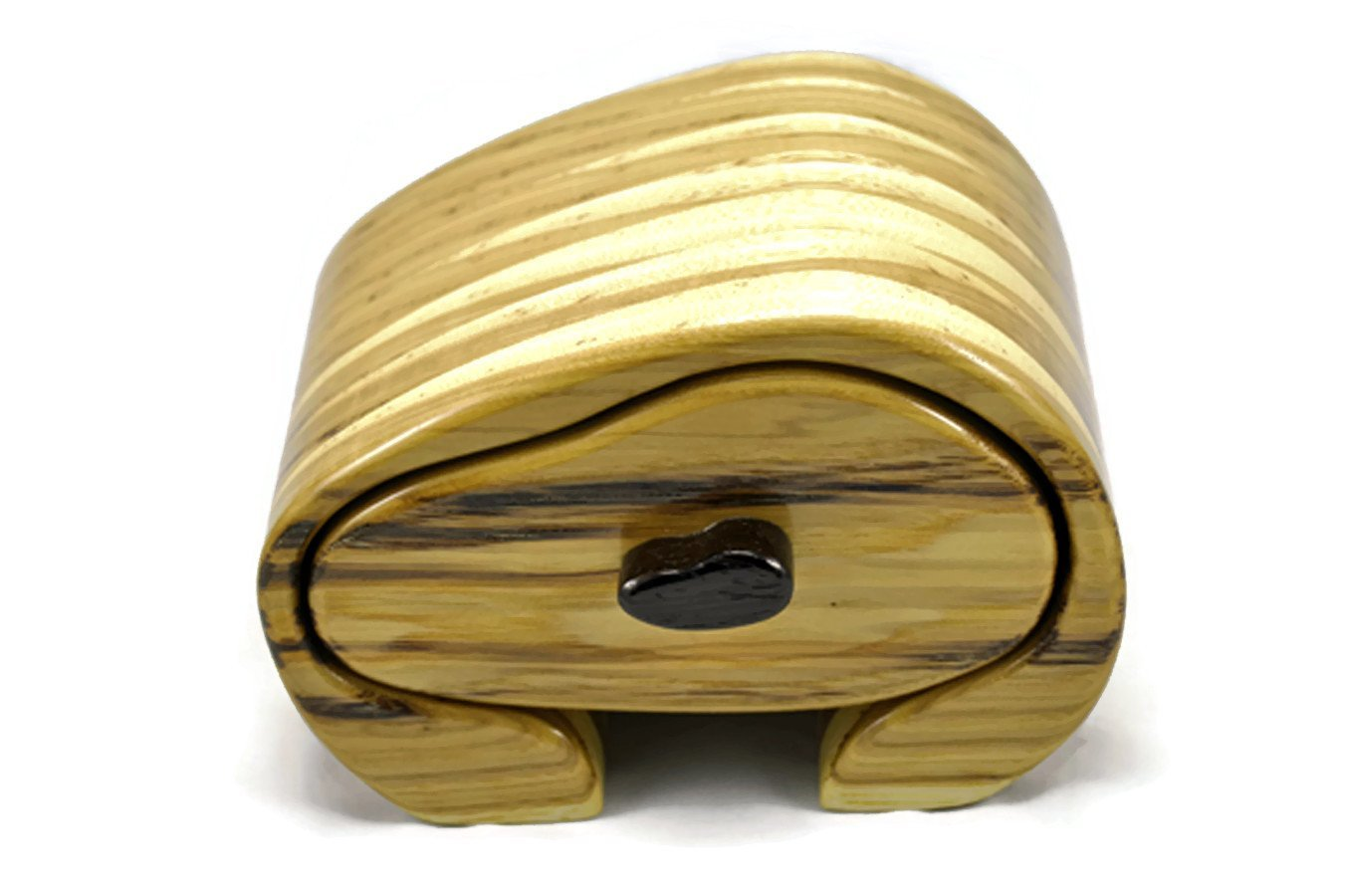 Jewelry Box in Hickory & African Wenge