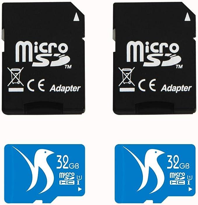 2-Packs Gigastone MicroSD HC 16GB C10 U1 with SD Adapter Includes Bonus Instant Savings Coupon