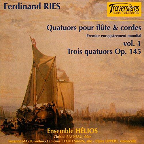 Price comparison product image Trois Quatuors Op.145 pour Flûte et Trio A Cordes