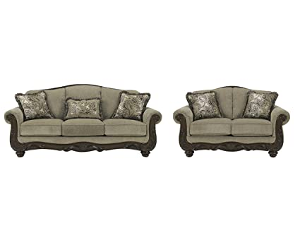 8ecd0d5dad2754 Image Unavailable. Image not available for. Color: Signature Design by  Ashley Martinsburg Living Room Set ...