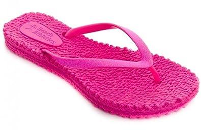b150610b9164 Beach Athletics Rochefort Pink Womens Beach Flip Flops-6  Amazon.co ...