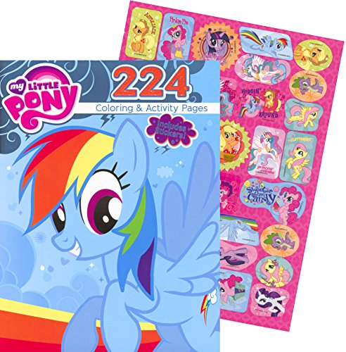 My Little Pony Giant Coloring and Activity Book with Sticker