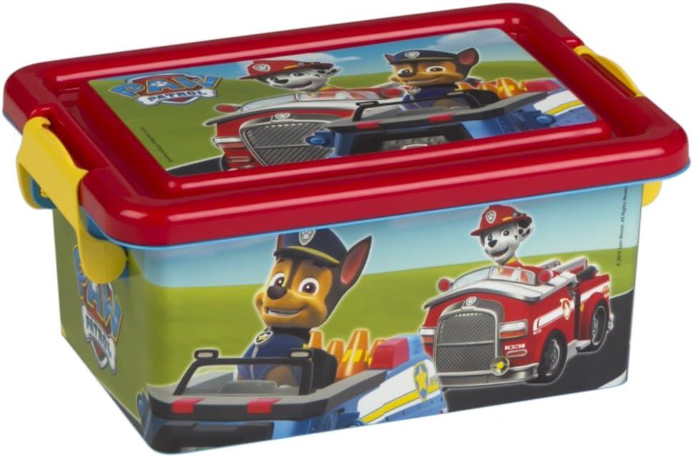 ColorBaby - Caja ordenación 3,7 litros, diseño paw patrol (76723 ...