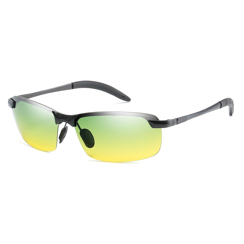 VOLCHIEN Driving Polarized Sunglasses for Men Women UV Protection Vintage Metal Alloy VC10160 (Multicoloured)