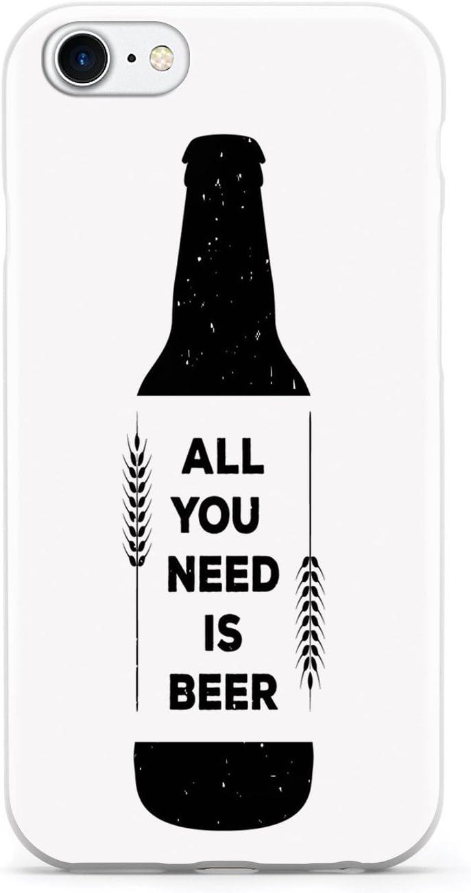 Inspired Cases All You Need is Beer - Estuche para Cervezas, Color Blanco: Amazon.es: Electrónica