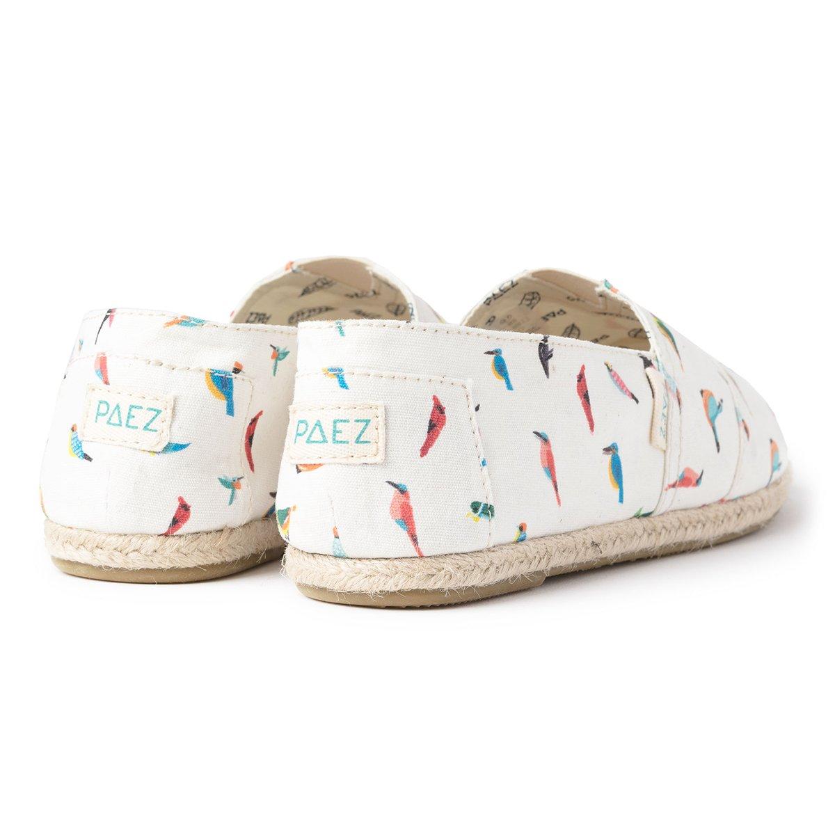Paez Original-Print Raw Souza Bird, Alpargatas para Mujer: Amazon.es: Zapatos y complementos