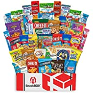 Care Package Snacks for College Students, Finals, Office, Easter, Deployment, Military and Gift Ideas - Including Over 3 lbs of Chips, Cookies and Candy! (40 Count)