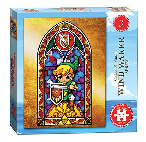 - USAOPOLY The Legend of Zelda Wind Waker #3 Puzzle