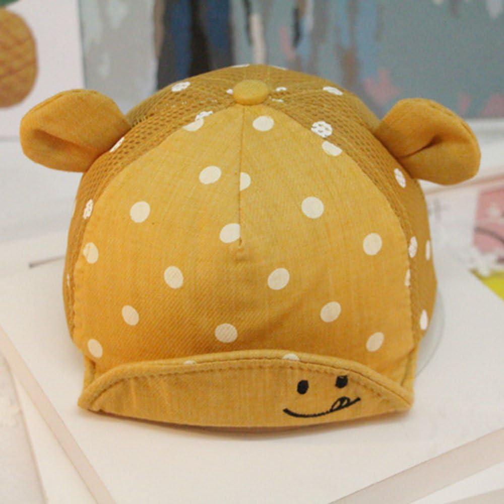 Yalatan Baby Junge M/ädchen Kinder Kleinkind M/ütze Baseball Tupfen Cap Hut Sonnenschutz