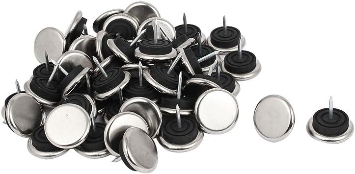 32 mm metálicas para muebles silla pata para mesa con pieza Glide Slide Protector de uñas 50 piezas: Amazon.es: Hogar