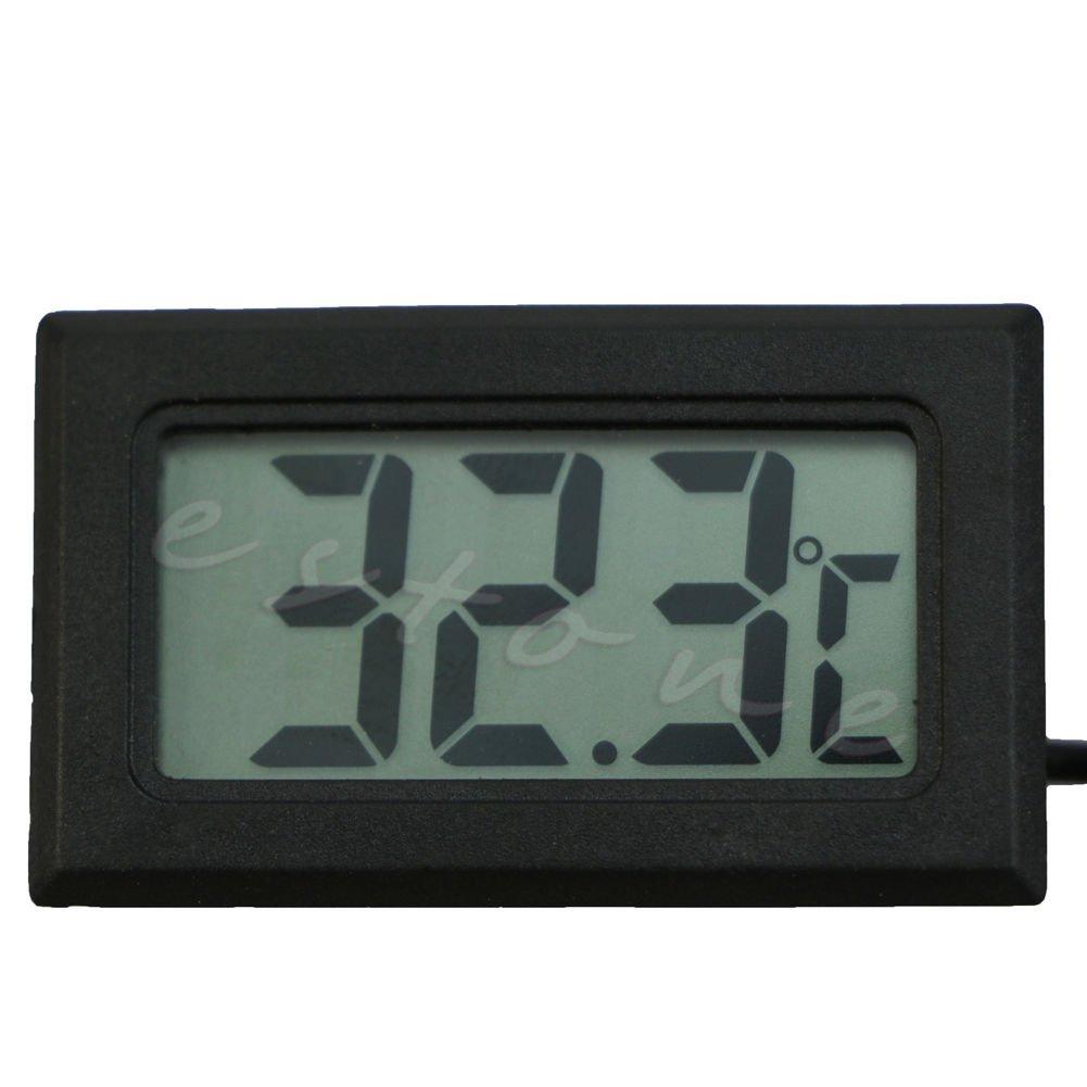 Amrka Refrigerator Thermometer Aquarium Electronic Waterproof Probe Digital Display