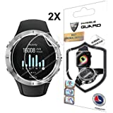 IPG for Suunto Spartan Trainer Wrist HR Watch Screen Protector (2 Units) Invisible Ultra HD Clear Film Anti Scratch Skin Guard - Smooth/Self-Healing/Bubble -Free