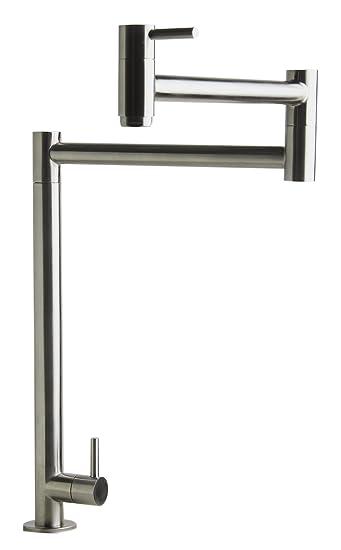 Buy Alfi Brand Ab5018 Bss Retractable Pot Filler Faucet Brushed