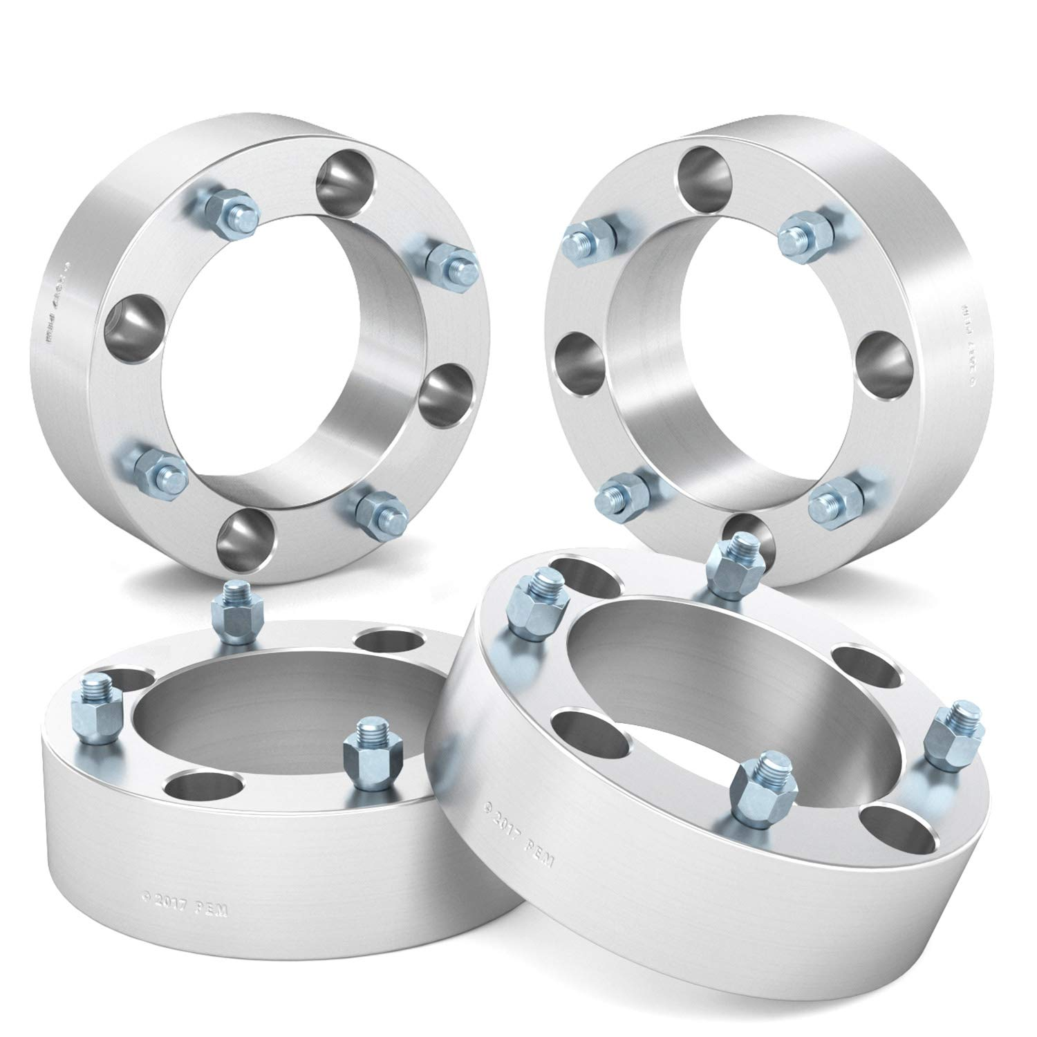 RockTrix for Precision European (4) 2'' Thick 4x137 ATV Wheel Spacers - 10x1.25 Studs for Kawasaki Can Am Can-Am: Brute Force Mule Outlander Commander Maverick Renegade Bombardier, bobcat wheel spacers by RockTrix (Image #3)