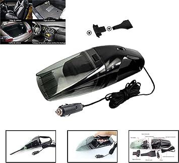 HHD® Aspiradora de mano, Aspirador de Portátil para coche Mojado/Seco Portátil DC 12 V 75 W Auto Aspirador de Mano con Cable de alimentación de 16,4 pies Automático Multifunción Coche: Amazon.es: Coche