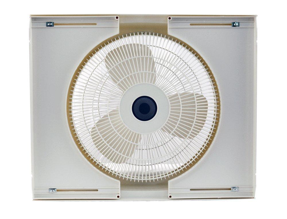 Air King 9155 Storm Guard Window Fan 16 Inch Home Kitchen
