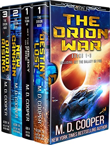 The Orion Wars by M. D. Cooper ebook deal