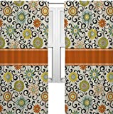 Cheap RNK Shops Swirls & Floral Curtains – 20″x84″ Panels – Lined (2 Panels Per Set) (Personalized)