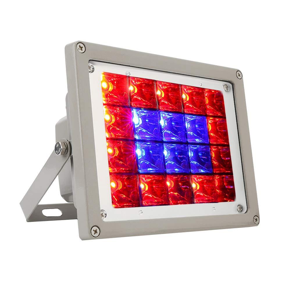 Hll-036 20W LED Crescere Proiettore All'aperto IP66 Impermeabile Brightest Luce di Sicurezza Alluminio Astuccio Corrosione Protezione Pianta Proiettore