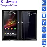 Kushwaha Front and Back Tempered Glass Screen Protector HD Quality For Sony Xperia Z, L36H, C6602 ,C6603