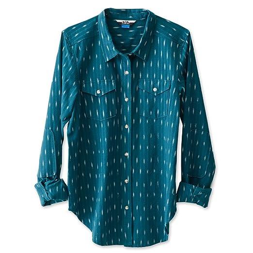 d2ff8a13 Amazon.com: KAVU Women's Hadley Button Down Shirts: Clothing
