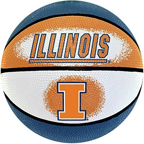 NCAA Illinois Fighting Illini Mini Basketball, 7-Inches