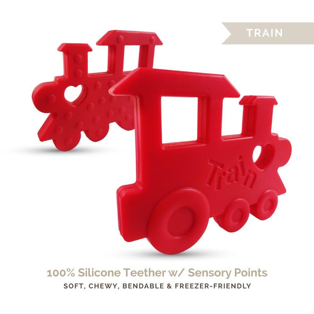 超人気の Lil' B01J20J6YY Teethers by Train Baby Teething Toys. Bendable & Freezer friendly. Highly Recommended by Moms. 100% Silicone (similar to nipples & pacifiers), BPA & Phthalates Free, FDA Compliant. Train by LilTeether B01J20J6YY, モンベツチョウ:2aeede09 --- a0267596.xsph.ru