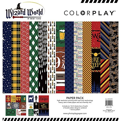 Wizard World - 12'' x 12'' Scrapbook Kit - PhotoPlay by PhotoPlay