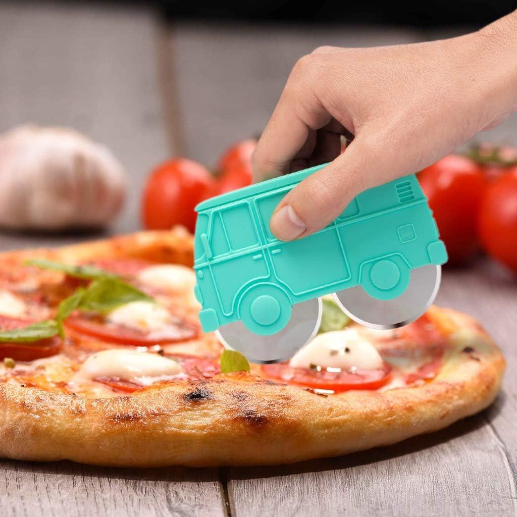 Compra Balvi Corta Pizza Van Color Verde Plástico ABS/INOX en ...