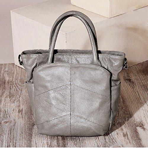 GUANGMING77 _Tasche Tasche Alle-Match Freizeitaktivitäten Crossbody Fahrgastraum gray