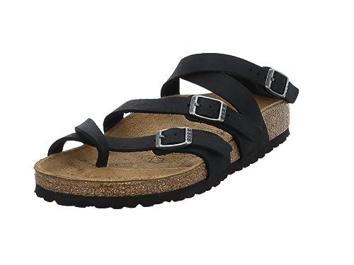 11b97d0bc8c91 Birkenstock Womens SERES Real Leather Sandals Regular Camberra Old Black  Size EU 37 - UK L4