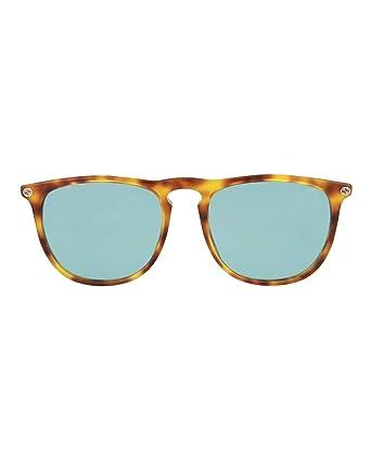 87bd41a8559 Amazon.com  Sunglasses Gucci GG 0120 S- 003 003 AVANA   BLUE   AVANA ...