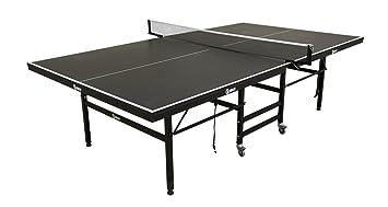 Smash Products Gran Pro Mesa de Ping Pong Negro: Amazon.es ...