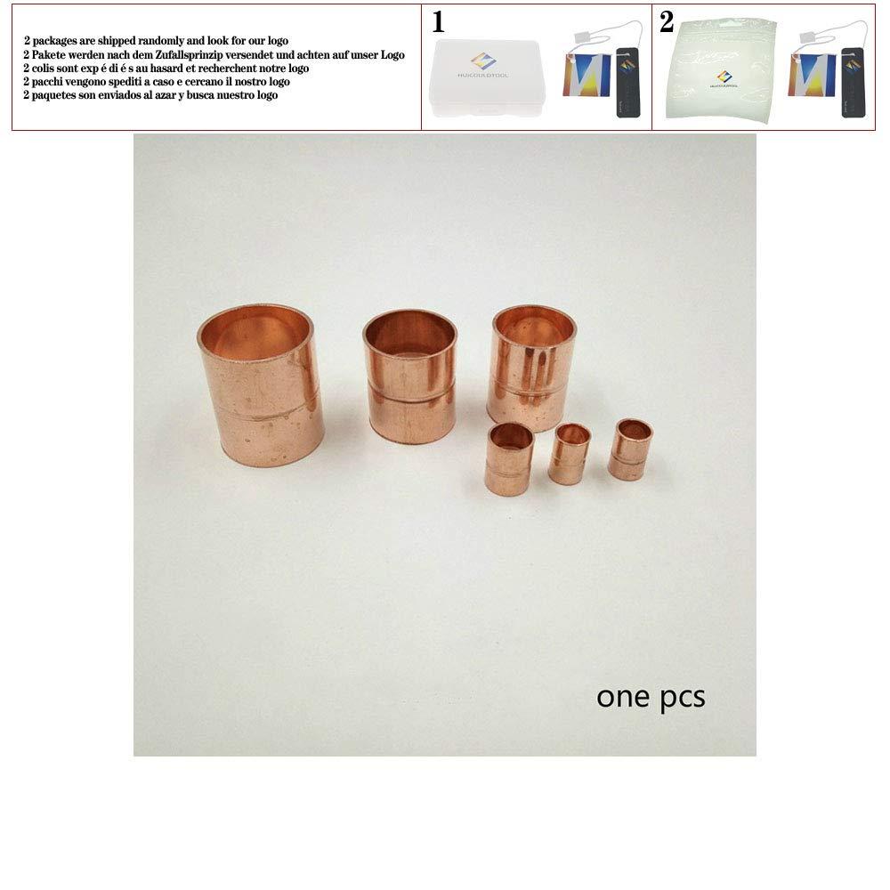 Alimentaci/ón final Conexi/ón de tubo de acoplamiento recto de cobre 8 mm 10 mm 12 mm 15 mm 22 mm Accesorios de refrigeraci/ón del aire acondicionado,12mm