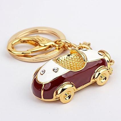 MXD Forma del coche de lujo llavero coche personalidad ...