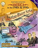 America in the 1980s and 1990s, Grades 4 - 7, Cindy Barden, 1580372163