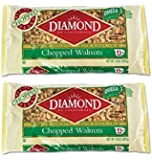 Diamond Chopped Walnuts, 8 oz, 2 pk