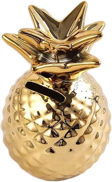 Amazon.com: YWSHF - Hucha de cerámica con forma de piña ...