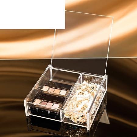 Caja de almacenaje de algodón, Cajas de almacenamiento de escritorio para los cosméticos Algodón caja Kit de acabado de algodón-F: Amazon.es: Hogar