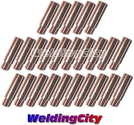 25 HeavyDuty Contact Tips 11H-30 for Tweco Mini//#1 Lincoln 100L MIG Welding Gun