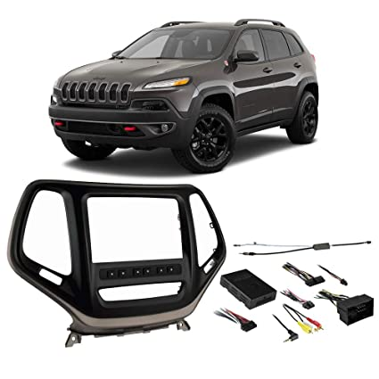 Amazon.com: Jeep Cherokee 2014-2018 Double DIN Stereo ... on