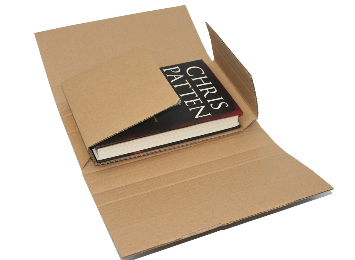 MAILING BOXES Bukwraps Amazon Style POSTAL BOXES 5 Sizes//Any Qty Royal Mail