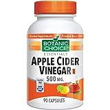 Botanic Choice Apple Cider Vinegar, 500 mg, 90 Capsules