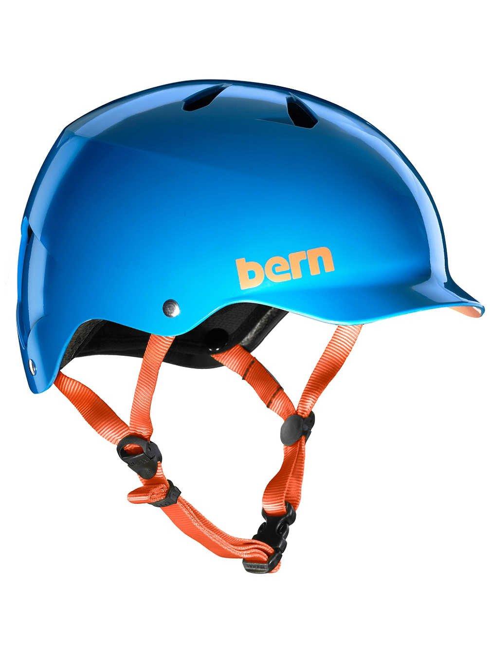 ベルン2017チームワットEPS夏自転車/スケートヘルメット(グロスアズレブルー - L)   B06XD49TK3