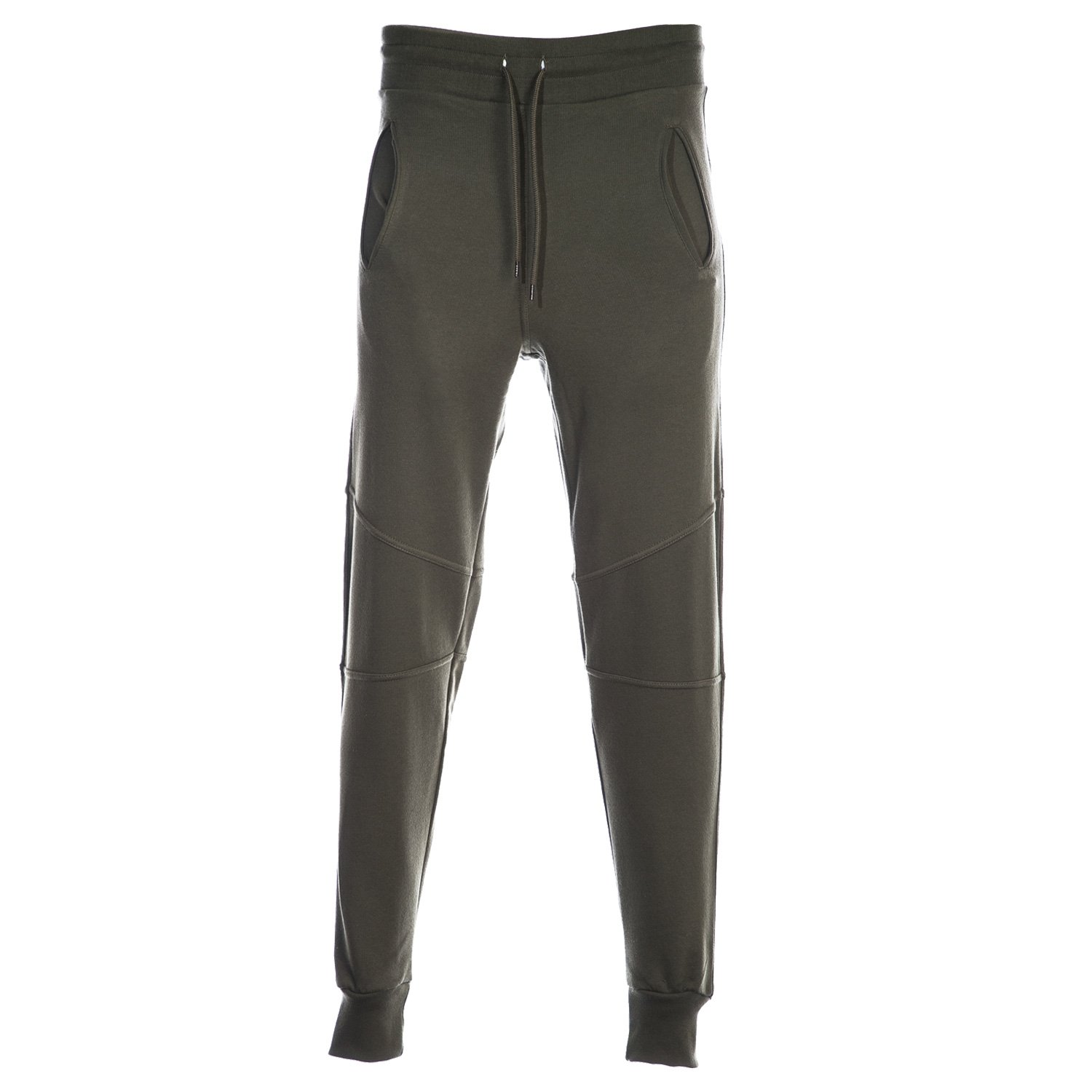 44LDN Slim Fit Sweatpant in Olive