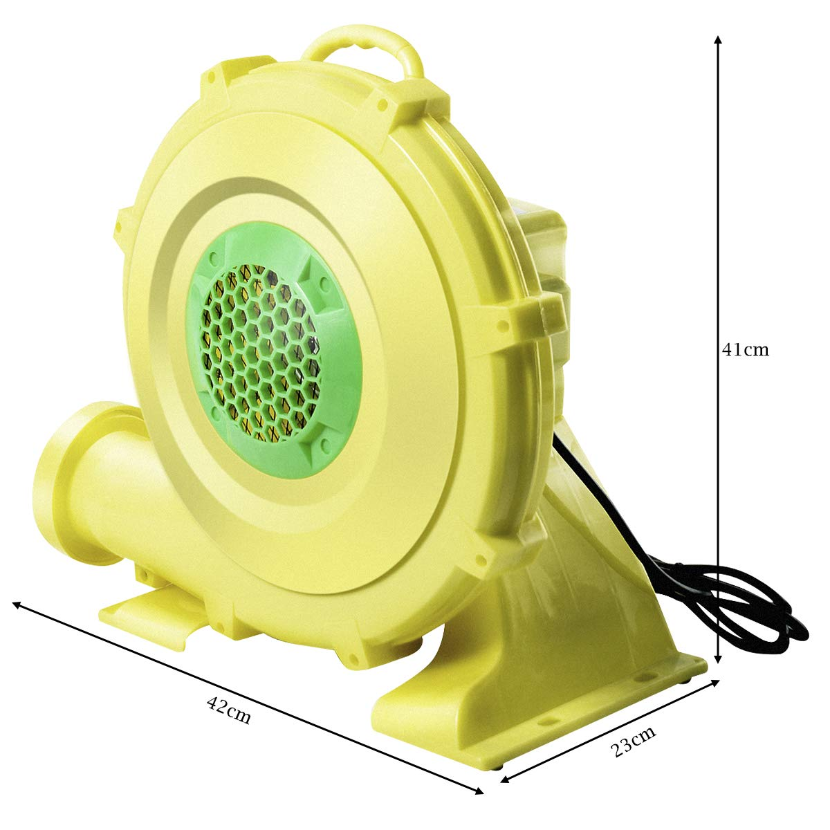 Premium Materials for Long Time Use Inflatable Bouncer Blower Jumper Bouncy Castle COSTWAY Air Blower of 480W//680W Perfect for Inflatable Bounce House Electric Pump Fan